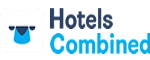 hotel search logo and page link